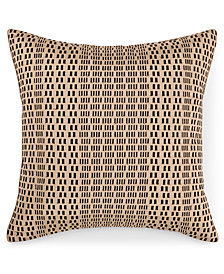 "Hotel Collection Onyx 20"" x 20"" Decorative Pillow, Created for Macy's"
