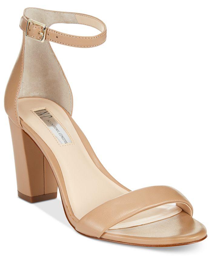 INC International Concepts - Kivah Block Heel Dress Sandals