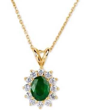 Emerald (1-1/10 ct. t.w.)...
