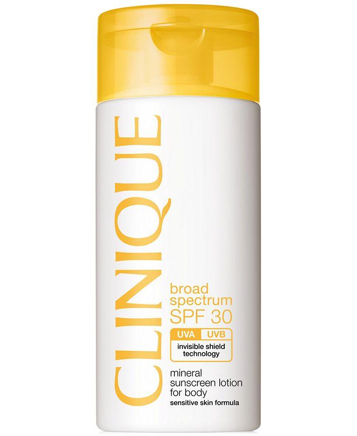 Clinique - Broad Spectrum SPF 30 Mineral Sunscreen Lotion For Body, 4.2 fl. oz.