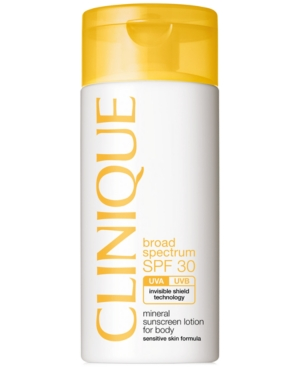 CLINIQUE Broad Spectrum SPF 30 Mineral Sunscreen Lotion for Body 4.2 oz