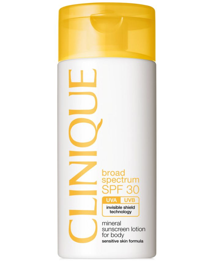 Clinique Broad Spectrum SPF 30 Mineral Sunscreen Lotion For Body, 4.2 fl. oz. & Reviews - Skin Care - Beauty - Macy's