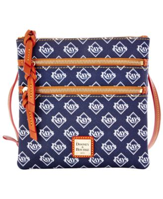 Tampa Bay Rays Triple Zip Crossbody Bag
