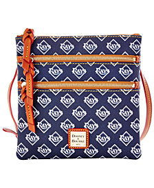 Dooney & Bourke Tampa Bay Rays Triple Zip Crossbody Bag
