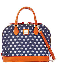 Dooney & Bourke Houston Astros Zip Zip Satchel