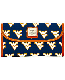 Dooney & Bourke Large Continental Clutch NCAA Collection