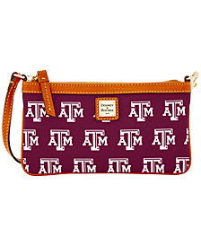 Dooney & Bourke Texas A&M Aggies Large Slim Wristlet