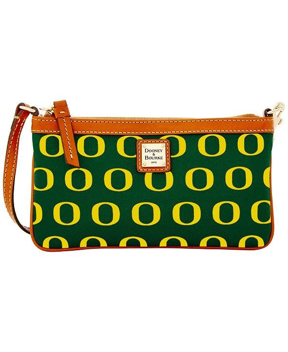 Dooney & Bourke Oregon Ducks Large Slim Wristlet