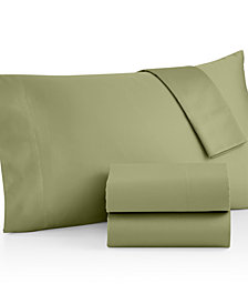 Westport Open Stock Extra Deep Pocket King Flat Sheet, 600 Thread Count 100% Cotton