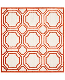 Amherst Indoor/Outdoor AMT411B 7' x 7' Square Area Rug