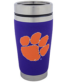 Hunter Manufacturing Clemson Tigers 16 oz. Stainless Steel Travel Tumbler