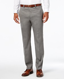 Lauren Ralph Lauren Men's Big & Tall Covert Twill Dress Pants