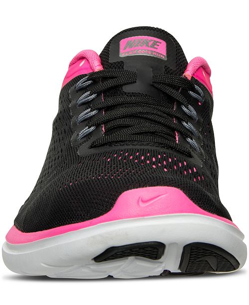 50ed4a1f582b0 ... Nike Women s Flex 2016 RN Running Sneakers from Finish Line ...