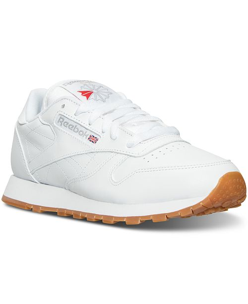 Reebok Women s Classic Leather Casual Sneakers from Finish Line ... 311f8f3d4