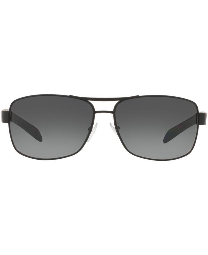 Prada Linea Rossa Polarized Sunglasses , PS 54IS & Reviews - Sunglasses by Sunglass Hut - Men - Macy's