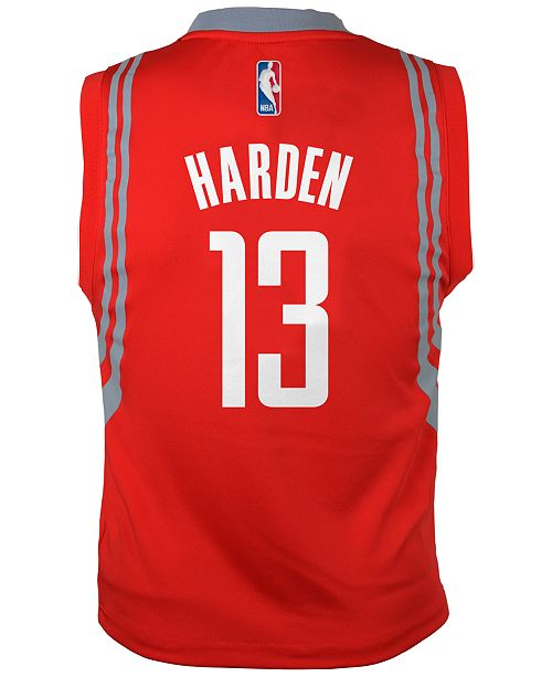 abb88db0e59d Product Details. The adidas kids s NBA revolution 30 jersey is perfect for  cheering on James Harden and the Houston Rockets.
