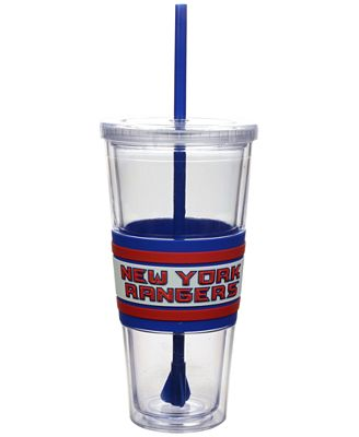 Boelter Brands New York Rangers 22 oz. Hyped Straw Tumbler