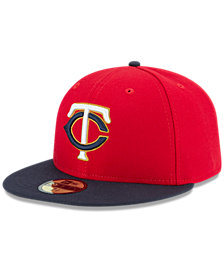 New Era Minnesota Twins Authentic Collection 59FIFTY Fitted Cap