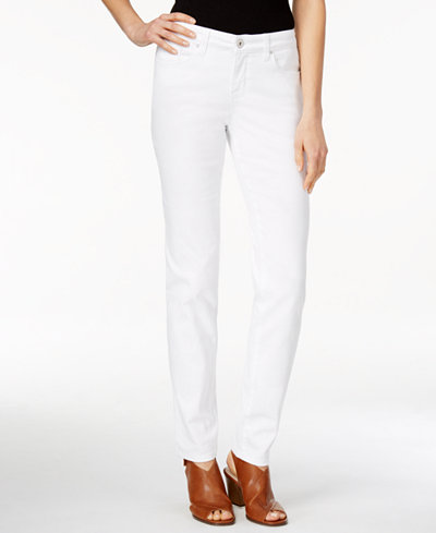 Style & Co Curvy-Fit Skinny Jeans, Only at Macy's - Jeans - Women ...