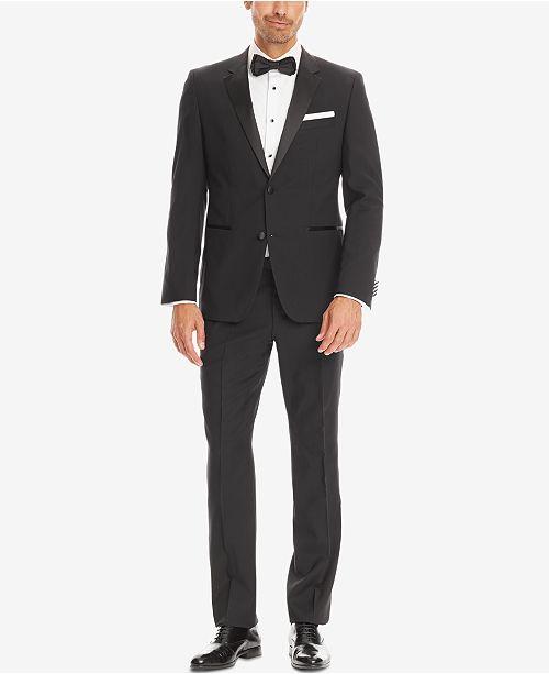 ed3170ac060 Hugo Boss BOSS Men s Trim-Fit Tuxedo   Reviews - Suits   Tuxedos ...