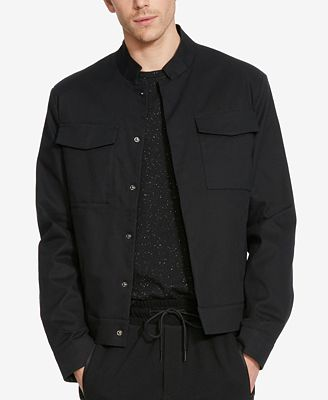 Kenneth Cole Reaction Men's Cropped Military Blazer - Blazers ...