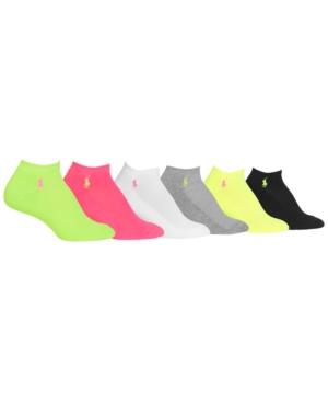 Polo Ralph Lauren Womens 6 Pack Sport Socks