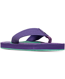 Polo Ralph Lauren Little Girls' Theo Big Pony Flip-Flop Sandals from Finish Line