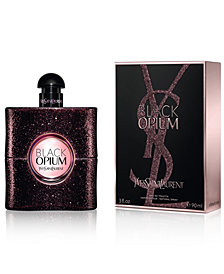 Yves Saint Laurent Black Opium Eau de Toilette Spray, 3 oz