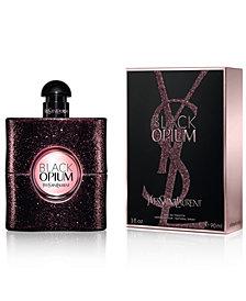 Yves Saint Laurent Black Opium Eau de Toilette Spray, 3 oz