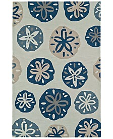 "Seaside SE11 5'X7'6"" Area Rug"
