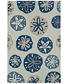 "Macy's Fine Rug Gallery Seaside SE11 5'X7'6"" Area Rug"