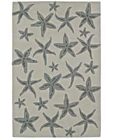 "Macy's Fine Rug Gallery Seaside SE8 5'X7'6"" Area Rug"