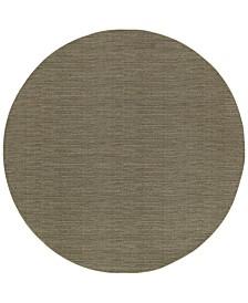 "Oriental Weavers Richmond Casual Grey/Brown 7'10"" Round Rug"