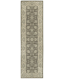 """Oriental Weavers Richmond Tabriz Brown/Ivory 2'3"""" x 7'6"""" Runner Rug"""