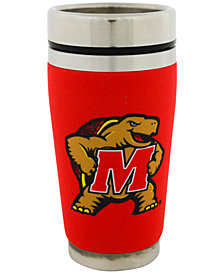 Hunter Manufacturing Maryland Terrapins 16 oz. Stainless Steel Travel Tumbler