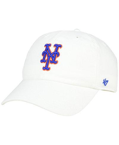 '47 Brand New York Mets Core Clean Up Cap