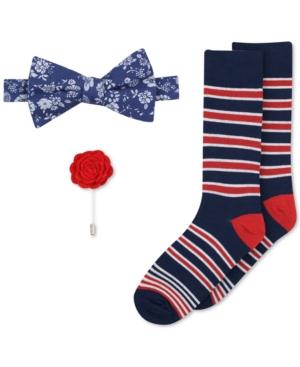 Bar Iii Men's Bow Tie, Lapel Pin & Socks Set, Only at Macy's