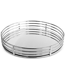 Circle Mirrored Tray