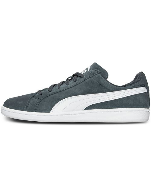 bf0c077306c6 ... Puma Men s Smash Suede Leather Casual Sneakers from Finish Line ...