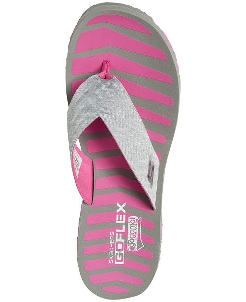 b562aaacd ... Skechers Women s GO FLEX - Vitality Flip Flop Sandals from Finish ...
