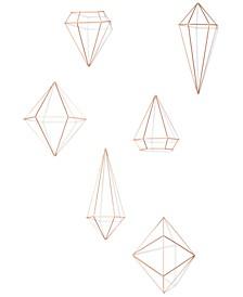"6 Piece Prisma Wall Decor, 8.88"" x 10"""