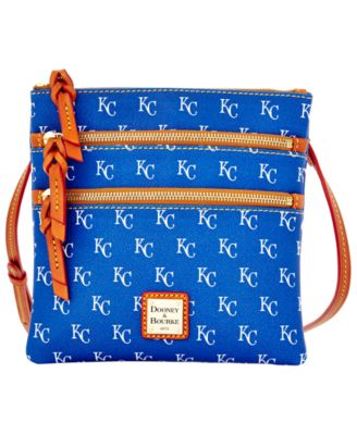 Kansas City Royals Triple Zip Crossbody Bag