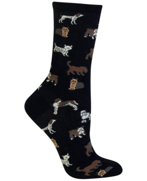 Women's Dogs Fashion Crew Socks