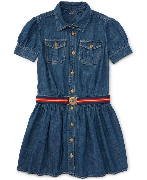 4e169770c63 Polo Ralph Lauren Ralph Lauren Denim Shirtdress