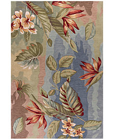 "Kas Coral 4168 Blue/Sage Breeze 3'3"" x 5'3"" Area Rug"