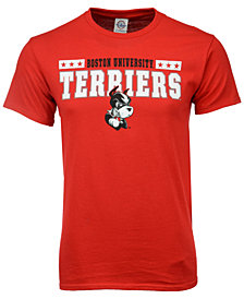 J America Men's Boston Terriers Star Bar T-Shirt