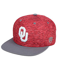 Top of the World Oklahoma Sooners Energy 2-Tone Snapback Cap