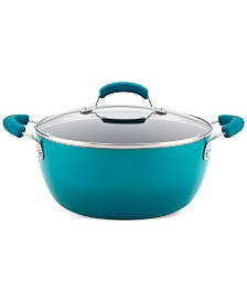 Rachael Ray Nonstick 5.5-Qt. Covered Casserole