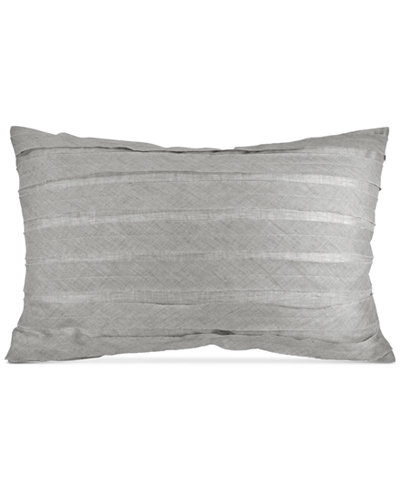 CLOSEOUT! DKNY Loft Stripe Gray Standard Sham