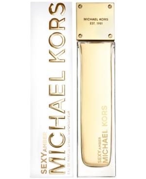 Michael Kors Sexy Amber Eau de Parfum Spray, 3.4 oz